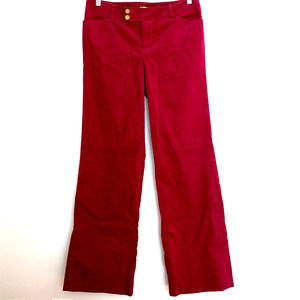 Lilly Pulitzer Palm Beach Fit Corduroy Pants 6